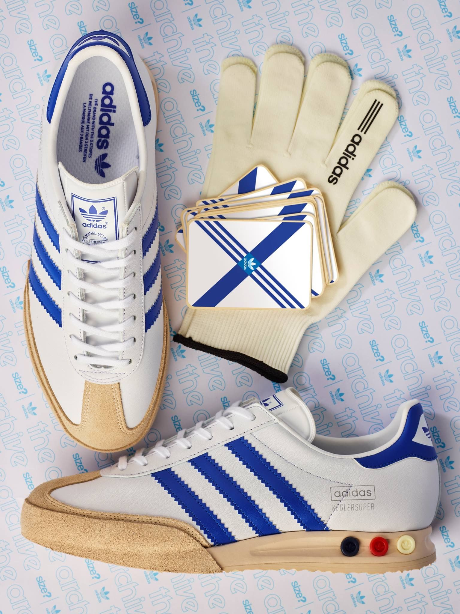 Size? x adidas Originals Kegler Super | Sneakers: adidas