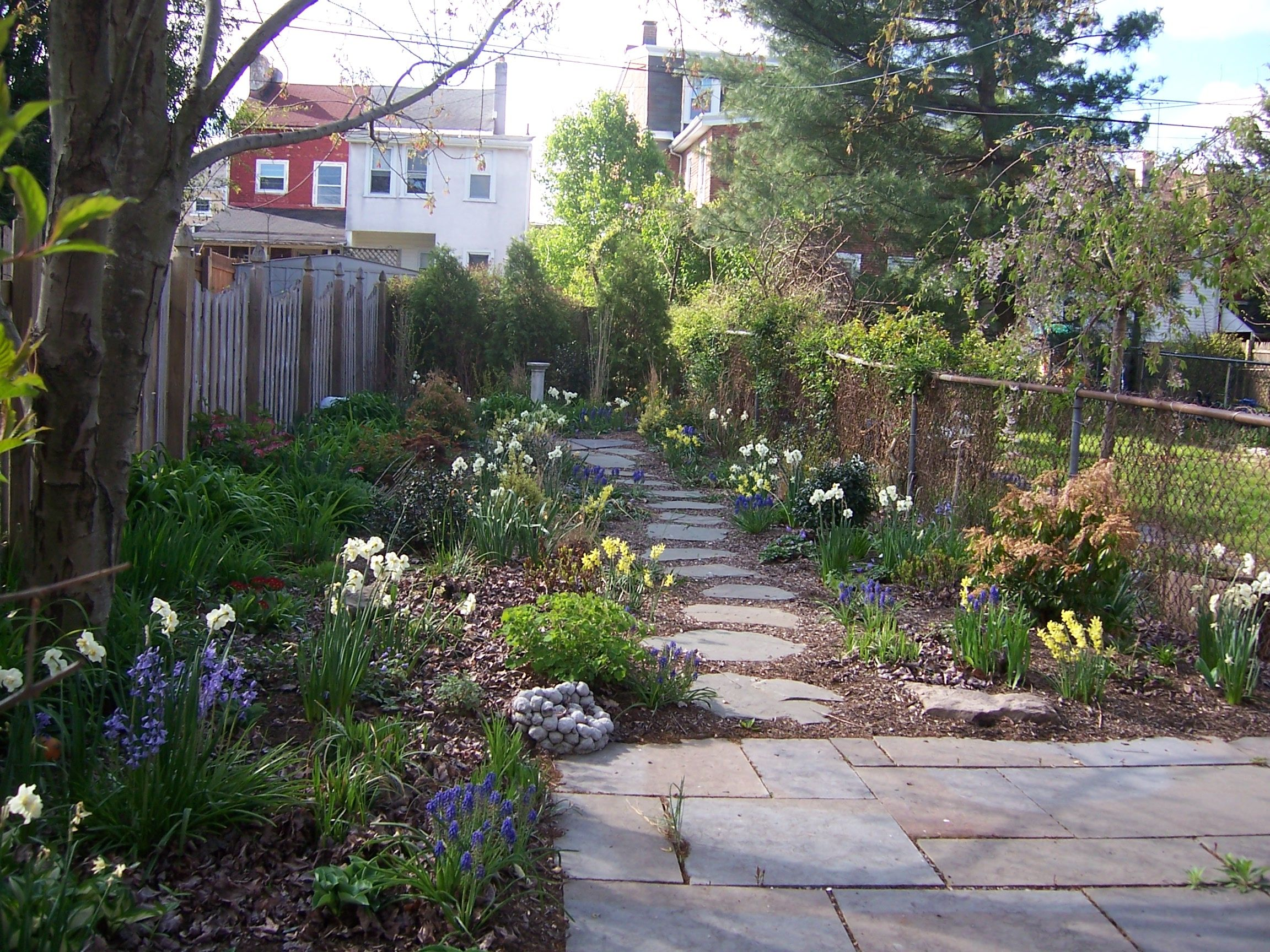 Easy Backyard Landscaping Ideas No Grass Large Backyard