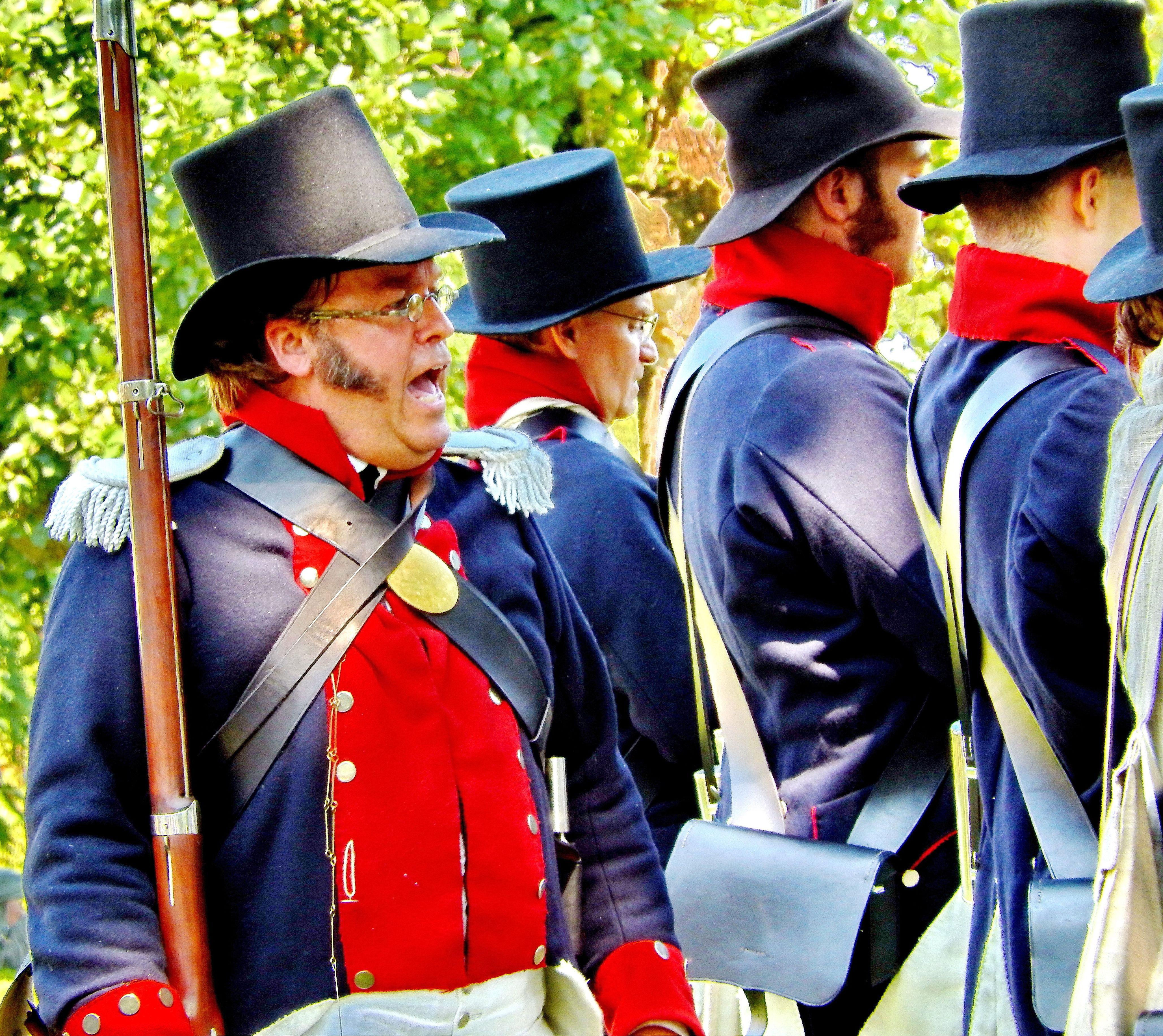 The Battle of Caulk's Field, Kent County, MD., reenactment 2012