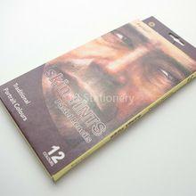 Bianyo 12 Cores/caixa Da Pele de Madeira Tons Pastel Lápis de Cor para Desenhar Desenho de Papelaria Material de Escritório(China (Mainland))