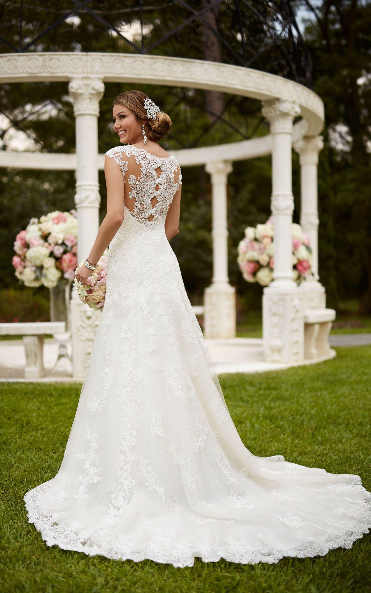 Aline sweetheart wedding dress stella york pinterest stella
