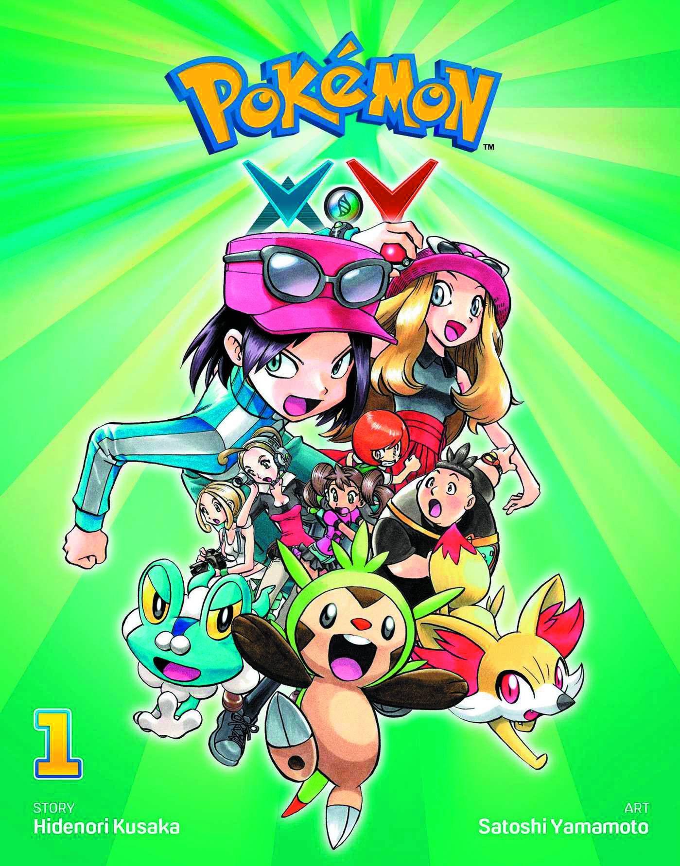 POKEMON XY GN VOL 01 Pokemon