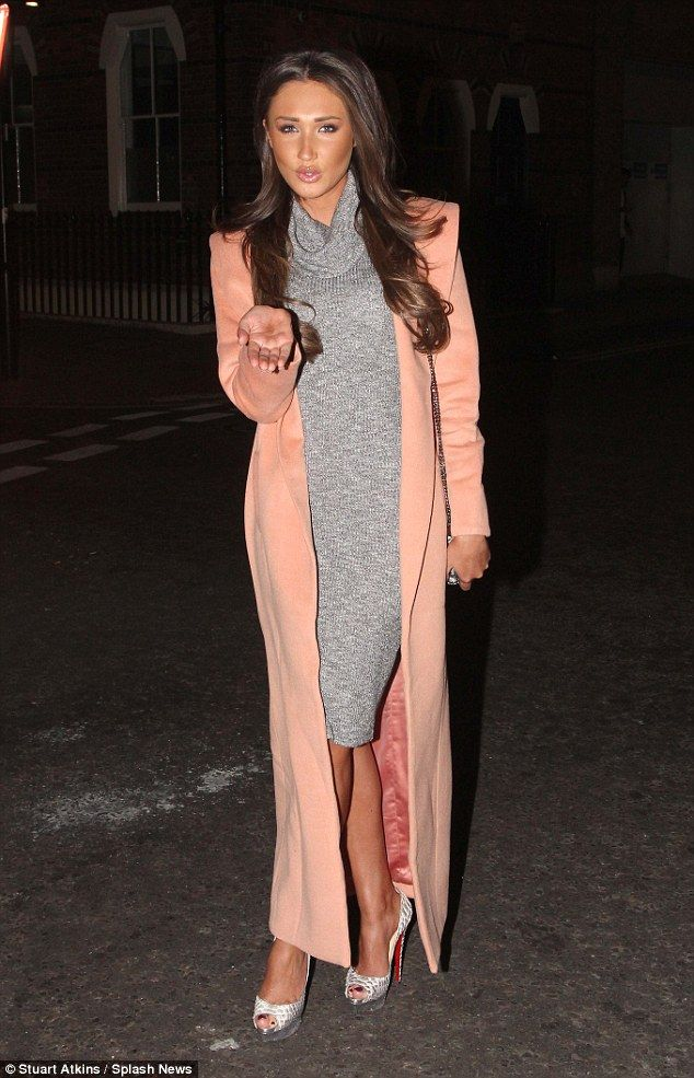 3336af61c Reunion: Megan McKenna, 23, joined her reality house co-star Jonathan  Cheban and his girlfriend Anat Popovsky for a catch-up dinner at the Circus  Restaurant ...