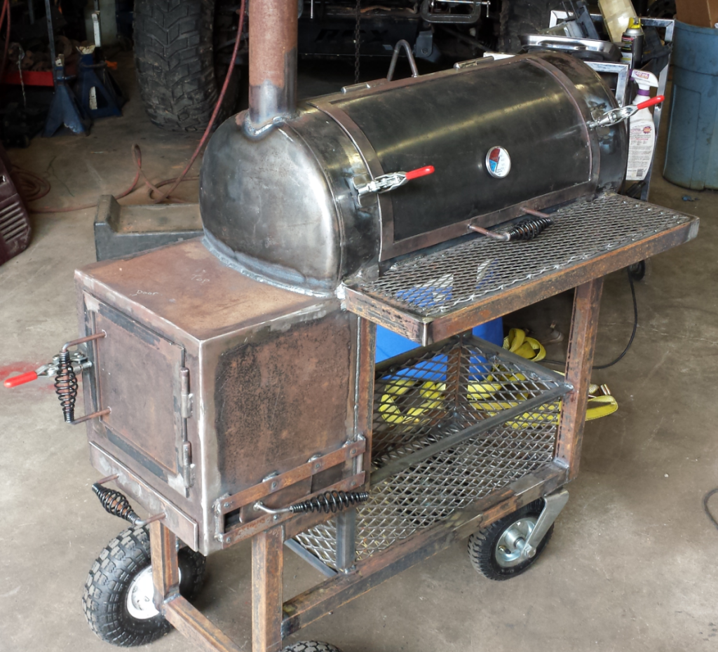 smoker homemade smokers bbq plans diy pit grill offset propane barbecue build tank grills trailer barrel pits flow reverse cooker