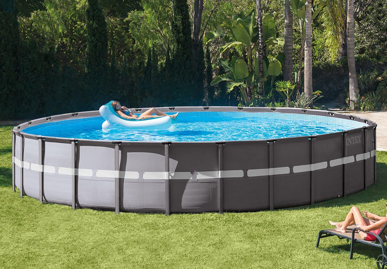 Your Shopping Cart Intex Above Ground Pools Pools The Home Depot Intex Above Ground Pools In Ground Pools Swimming Pools Backyard