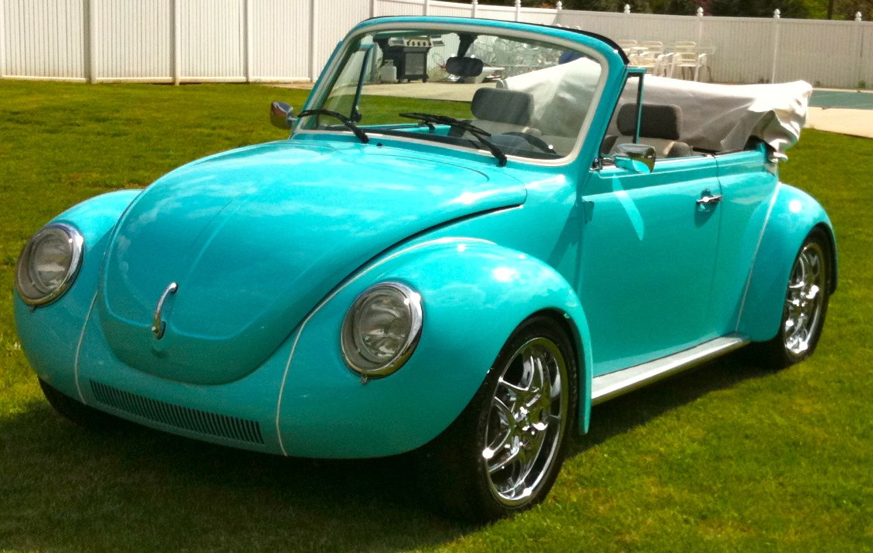 This 1974 Volkswagen Superbeetle Convertible Received A