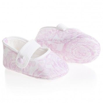 7d9910fe16ac Young Versace baby shoes