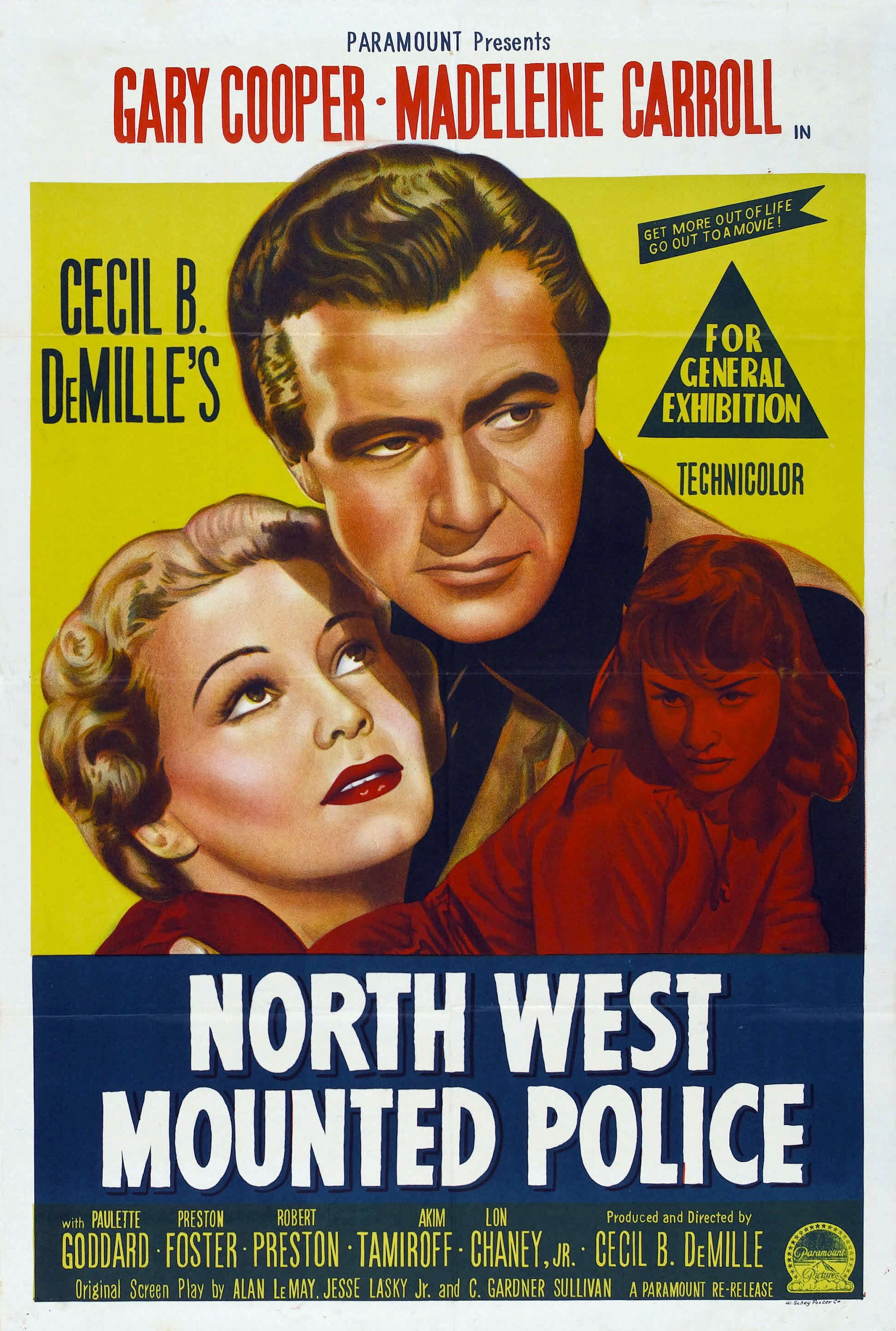 """""""North West Mounted Police"""" directed by Cecil B. DeMille / 2nd grossing film in 1940"""