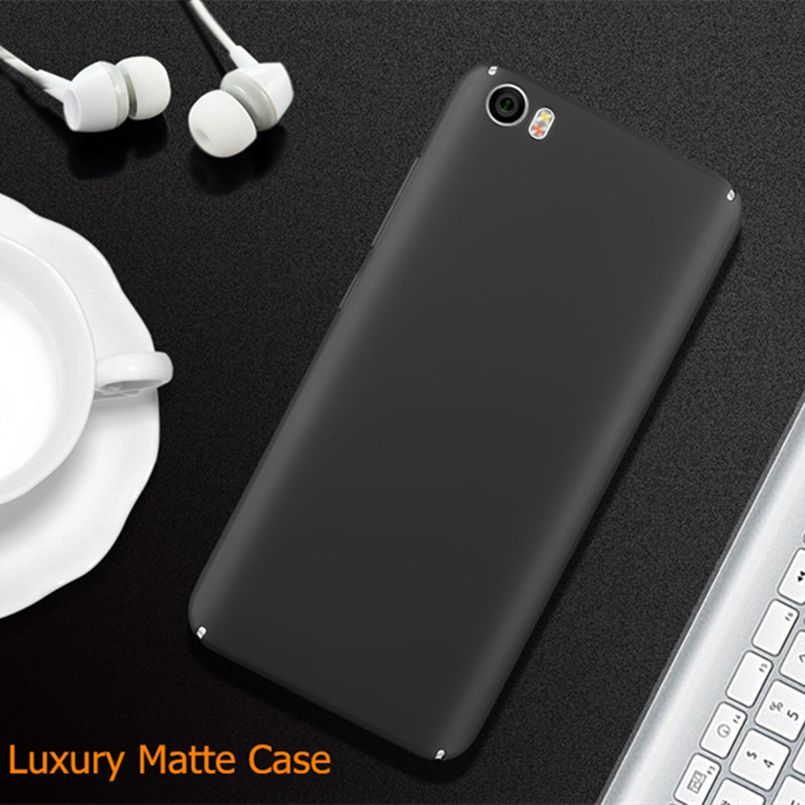 brand new a217e 0eee2 Free tempered glass! Xiaomi Mi 5 case matte pc back cover case for ...