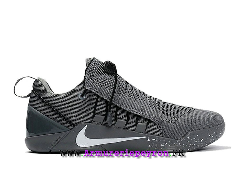 Basketball Chaussures Homme Nike Kobe AD NXT Prix Pas Cher Gris ...