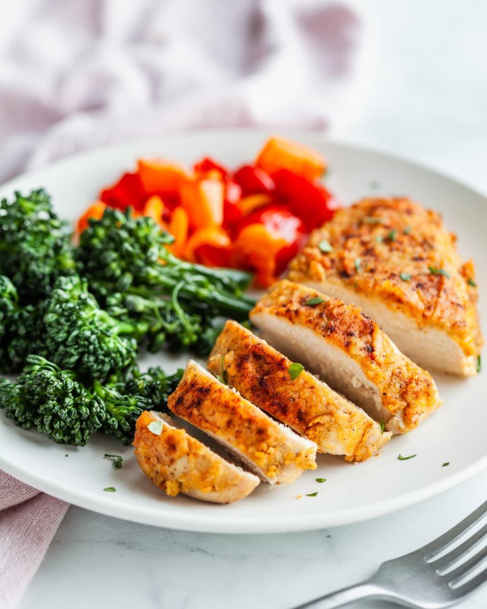 3 Ingredient Chicken Dinners: Hummus Crusted Chicken