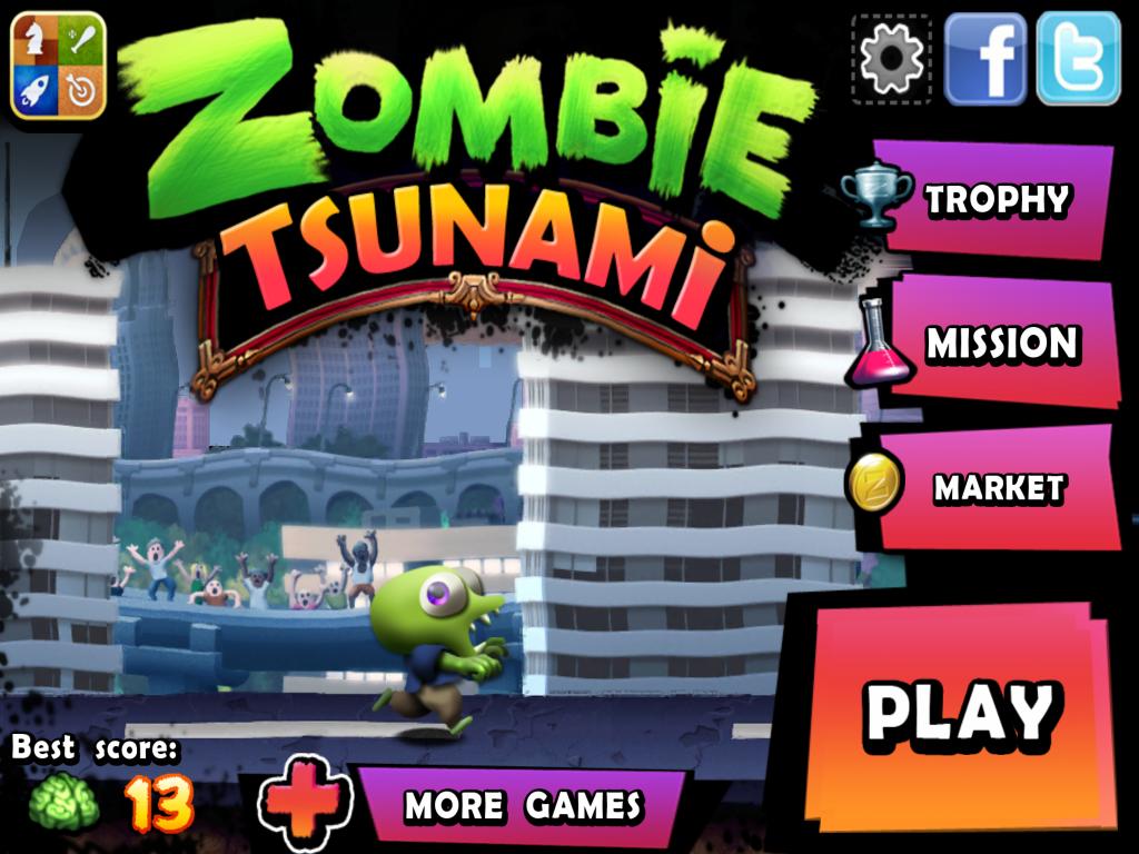zombie tsunami mod apk unlimited diamonds and coins