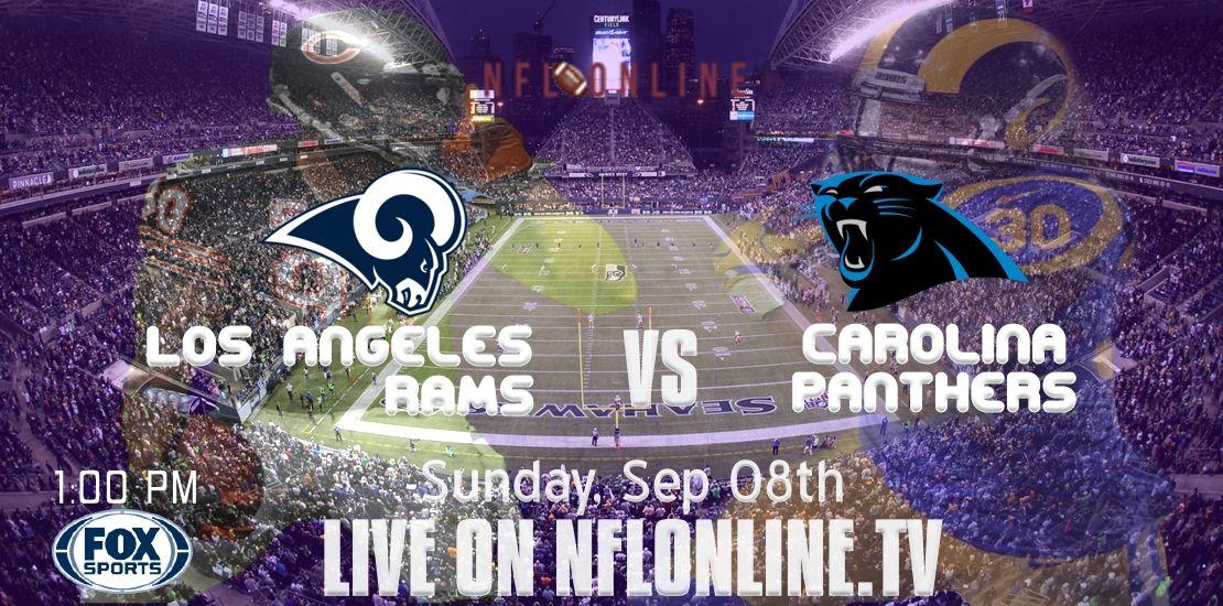 Week1 Carolina Panthers vs Los Angeles Rams 2019 Live
