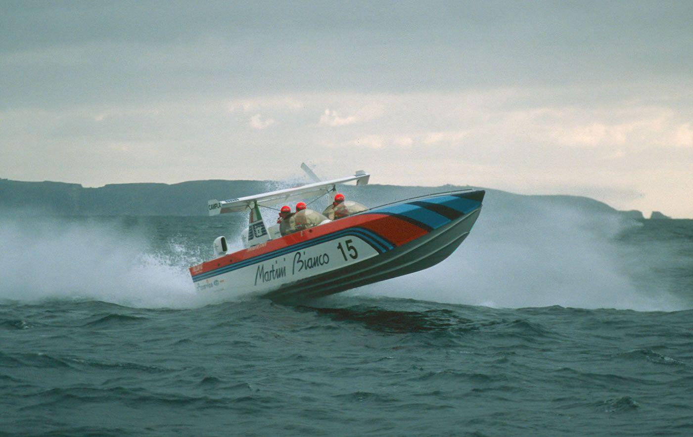 MARTINI BIANCO (1988) Power boats, Boat, Classic