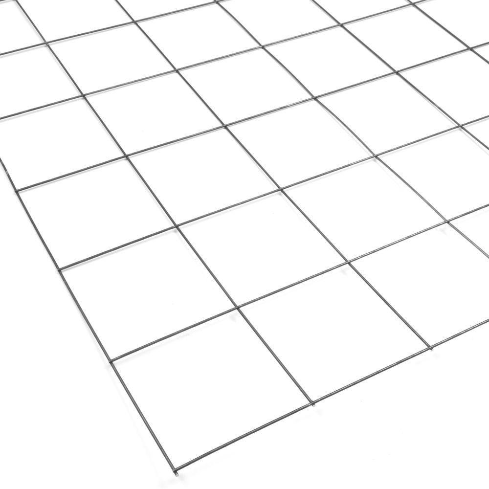 42 in. x 84 in. Sheared Welded Steel Wire Remesh Sheet-004061 - The ...
