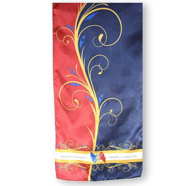 48115b0eb Russell-Hampton Co. Rotary Club Supplies: 2013-14 Theme Silk Scarf ...