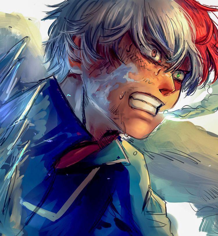 𝓛𝓲𝓷 Plus Ultra (Todoroki) Anime, Animação, Boku no