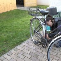 Alte Fahrräder fit machen