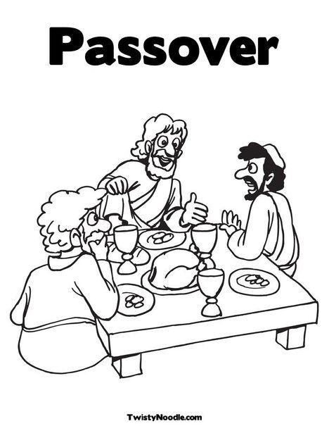 Passover Coloring Picture #Jewish #Judaism #Passover #cake #recipe ...