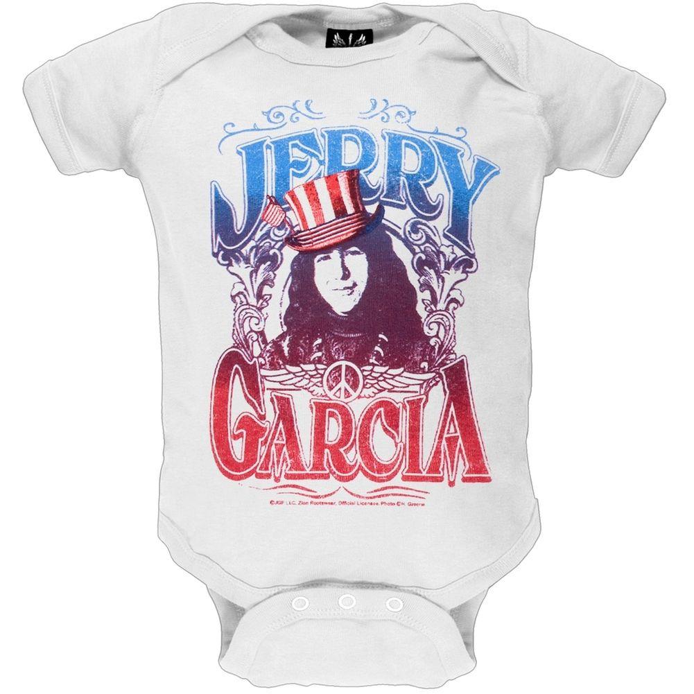 Jerry Garcia America Baby One Piece Oldglory Com