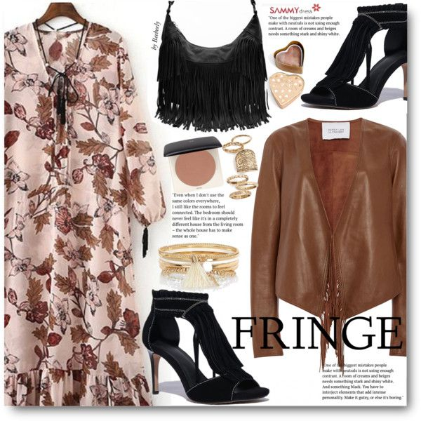 How To Wear Spring Boho - Fringe Outfit Idea 2017 - Fashion Trends Ready To Wear For Plus Size, Curvy Women Over 20, 30, 40, 50
