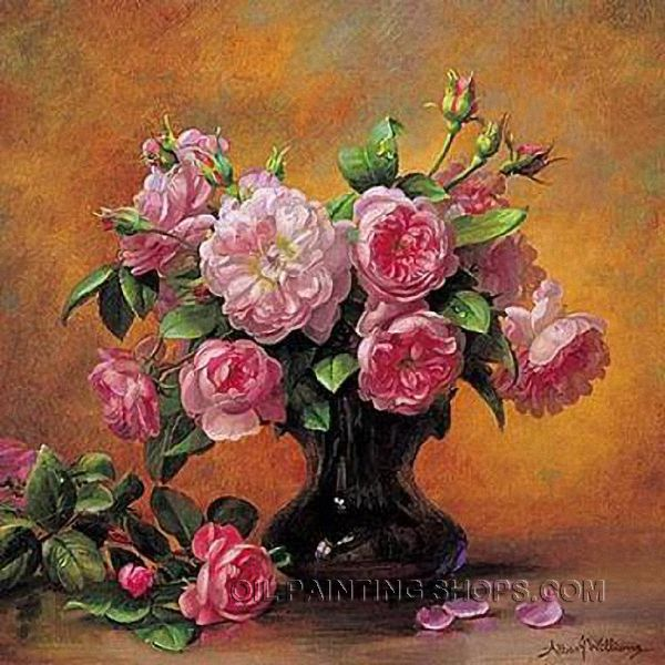 Elegant Canvas Painting For Sale Still Life Flower Painting Ideas