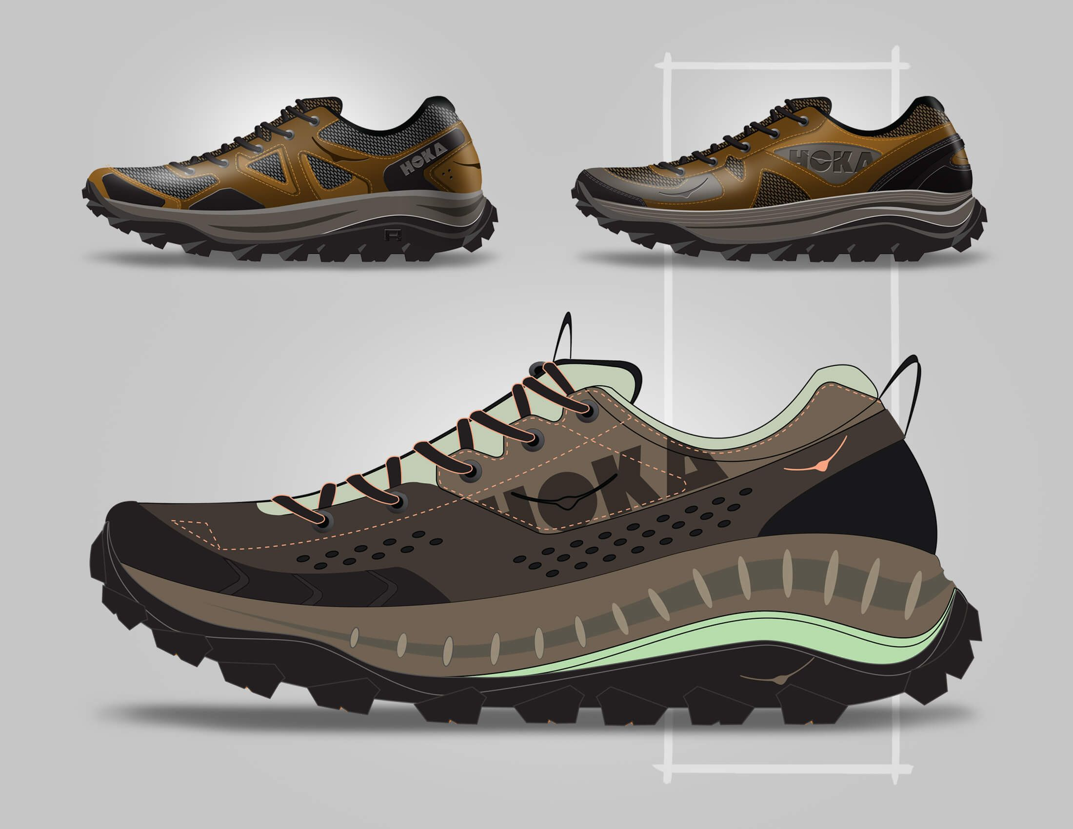 HOKA Tor Summit WP by GHOST WORKS Designer shoes
