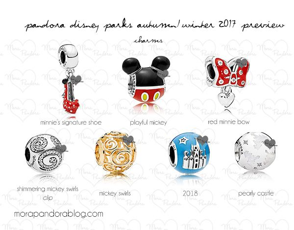 disney park exclusive pandora charms 2017