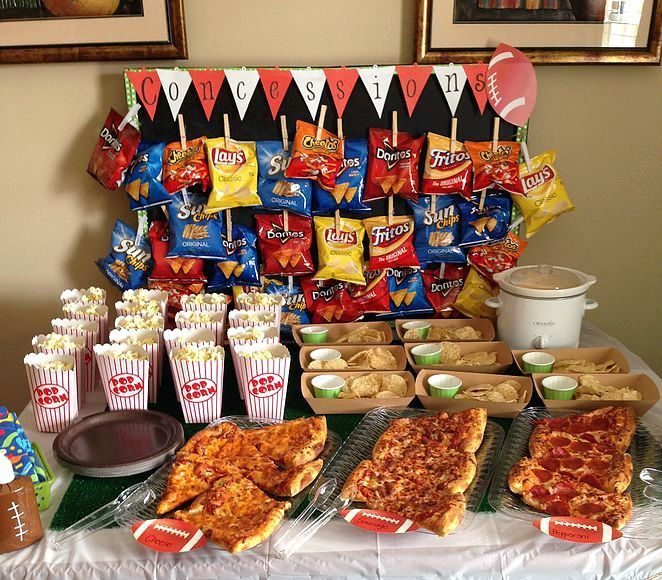 14 Year Old Boy Birthday Party Ideas Enchanting Concession Stand