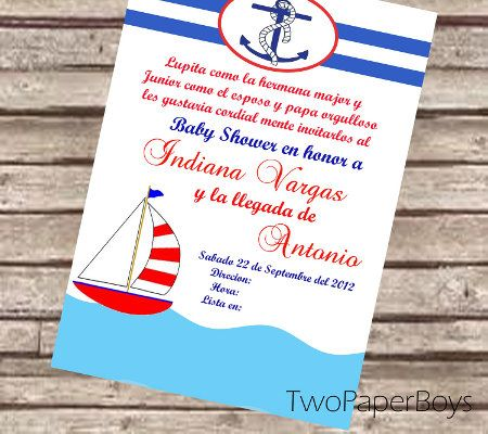 Baby shower invitations in spanish disney baby nautical baby shower baby shower invitations in spanish disney baby nautical baby shower invitations 450x400 filmwisefo Choice Image