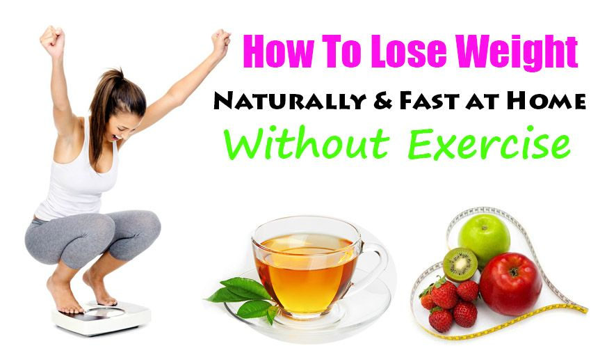 natural ways to lose weight in 1 week
