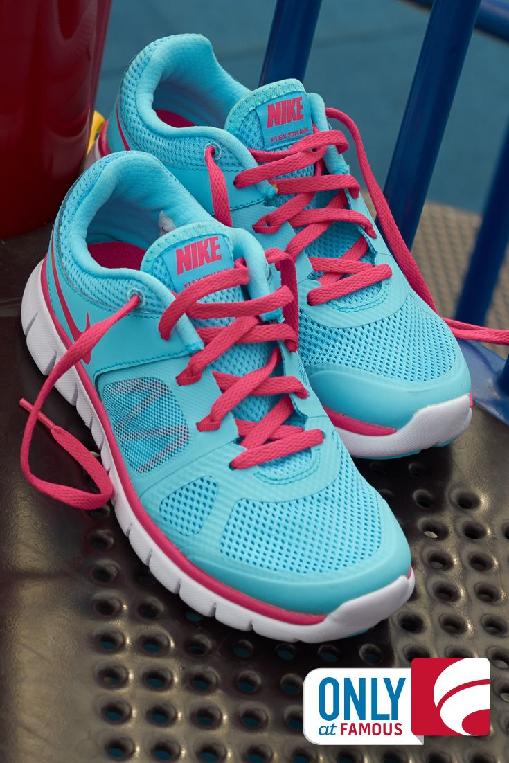 new style c1375 78a66 Playgrounds are for playful pops of color and these Nike running shoes do  the trick!