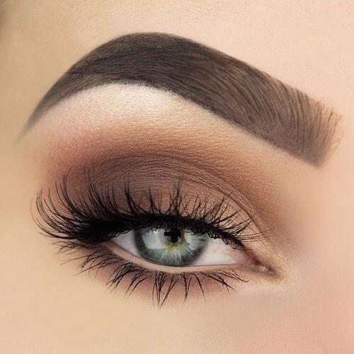 Matte Brown Smokey Eye For Fall Gold Eye Makeup Blue Makeup Makeup Nails Designs