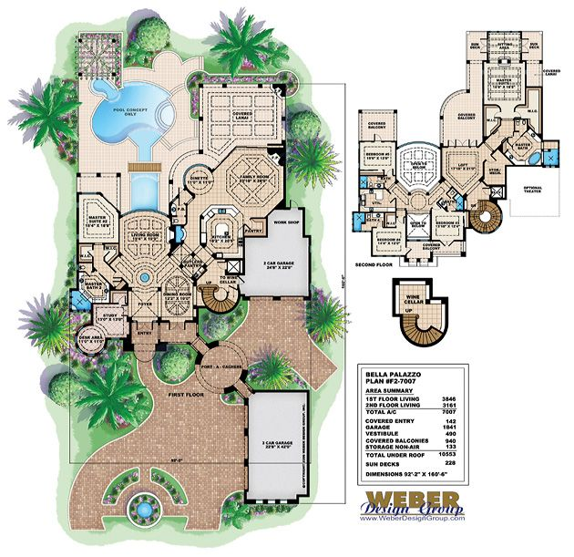 Tuscan Floor Plan Bella Palazzo Floor Plan 5 Bed 5 1