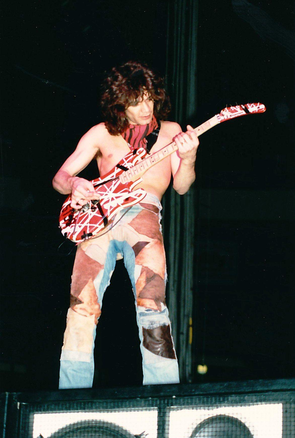 Van Halen 1980 S Eddie Van Halen Van Halen Van Halen 5150