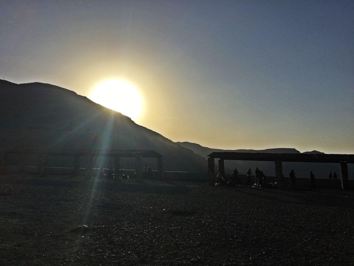 Family road trip to Jebel Jais mountain