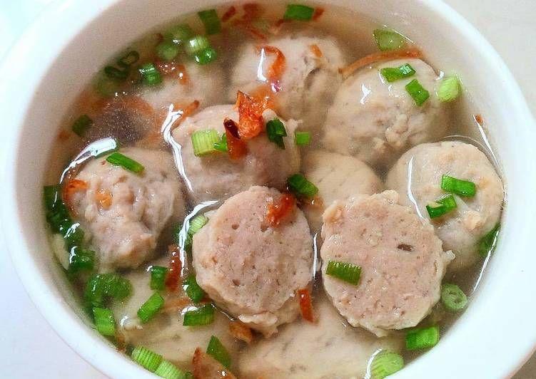 Resep Bakso Sapi Udang Tofu Batita Ku Oleh Tintin Rayner Resep Makan Siang Resep Sup Resep