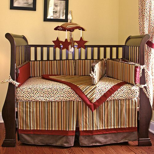 Hot Tamale Crib Bedding Hoohobbers Loved This Color Scheme The Colors Were Darker And Richer In Person Too Bad It S 390
