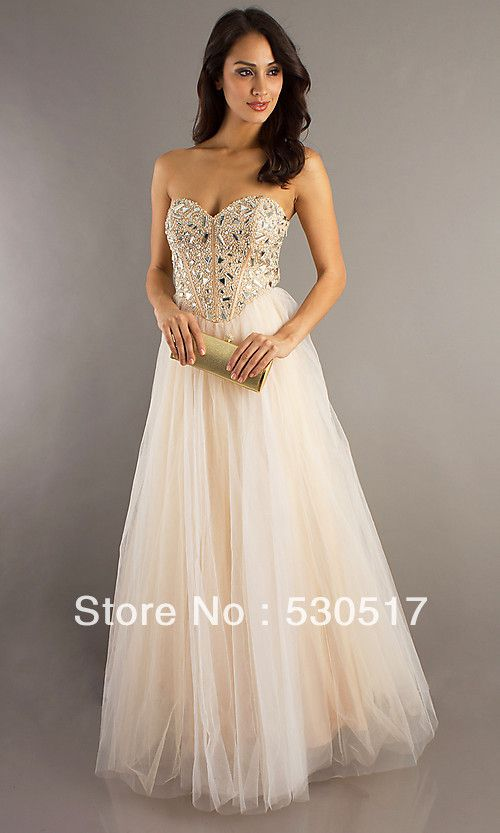 Cream Colored Prom Dresses – Dresses for Woman