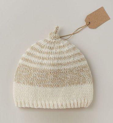 Modèle bonnet douceur layette
