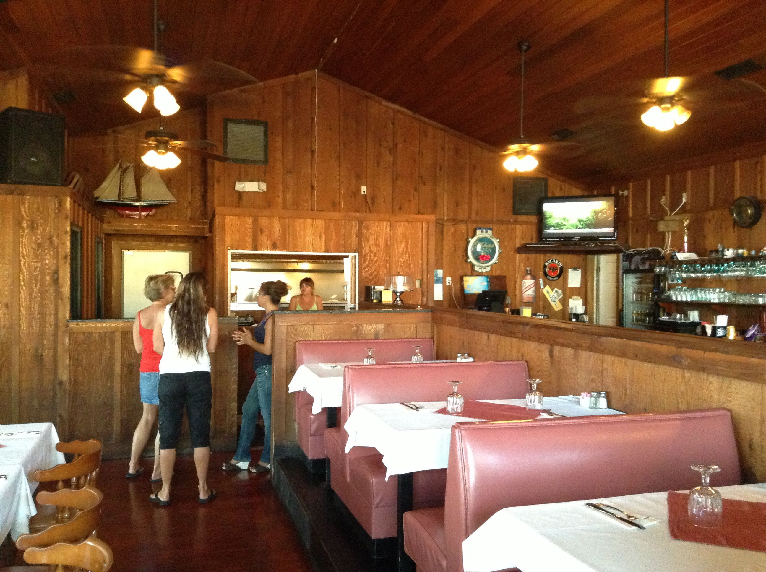 Inside Hungry Iguana Little Cayman Islands A Very Nice And Affordable Restaurants