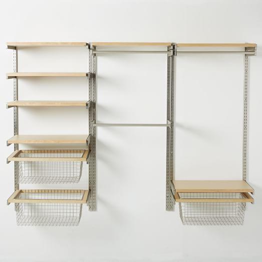 Attrayant Basement Laundry Idea Build Your Own Monorail Closet System | West Elm