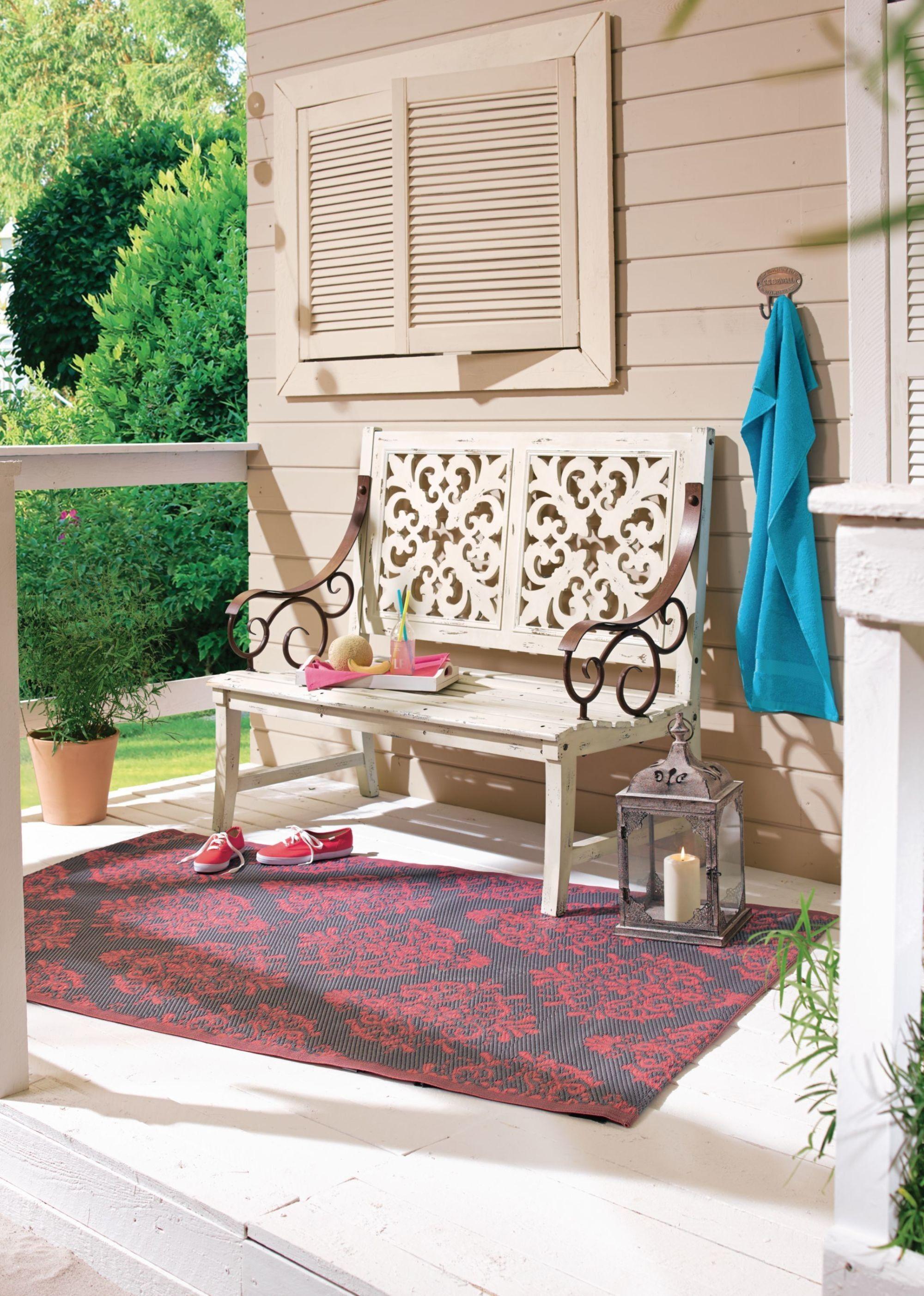 Gartenbank Weiß Holz Kaufen