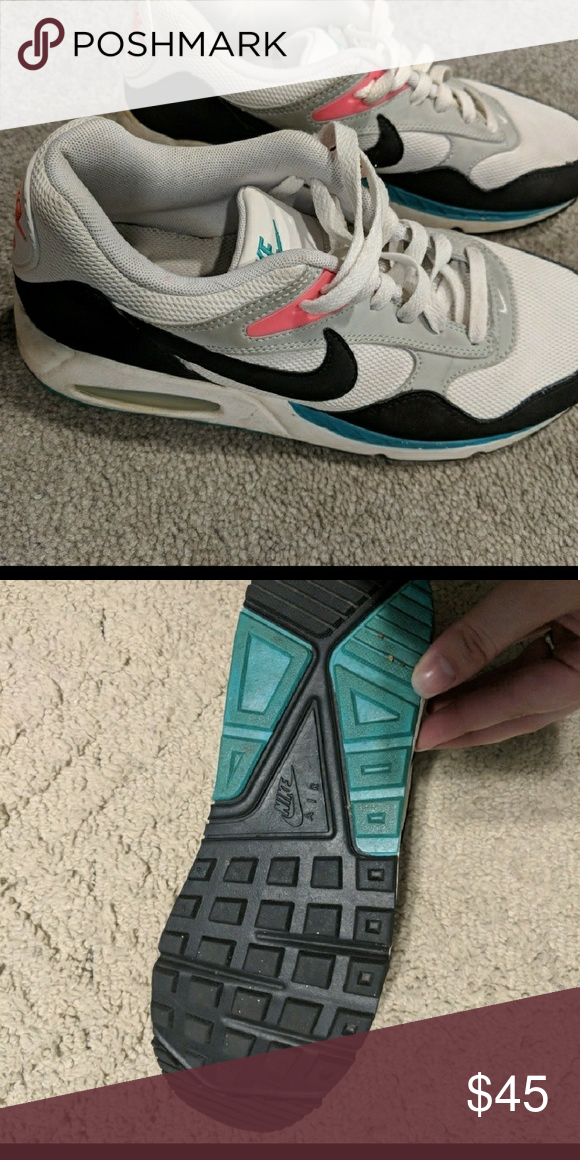 Nike Air Max Black,pink,teal nike Nike