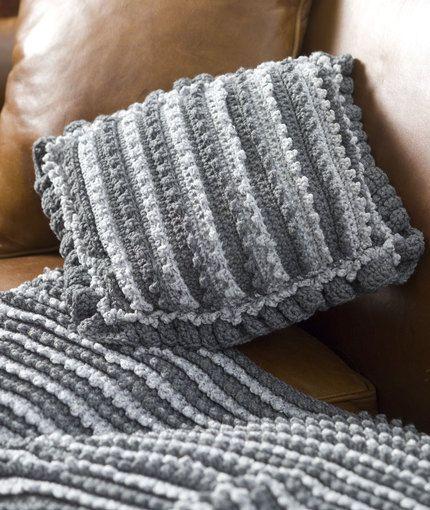 Millennium Throw Crochet Pattern | Red Heart | Ganchillo .....todo ...