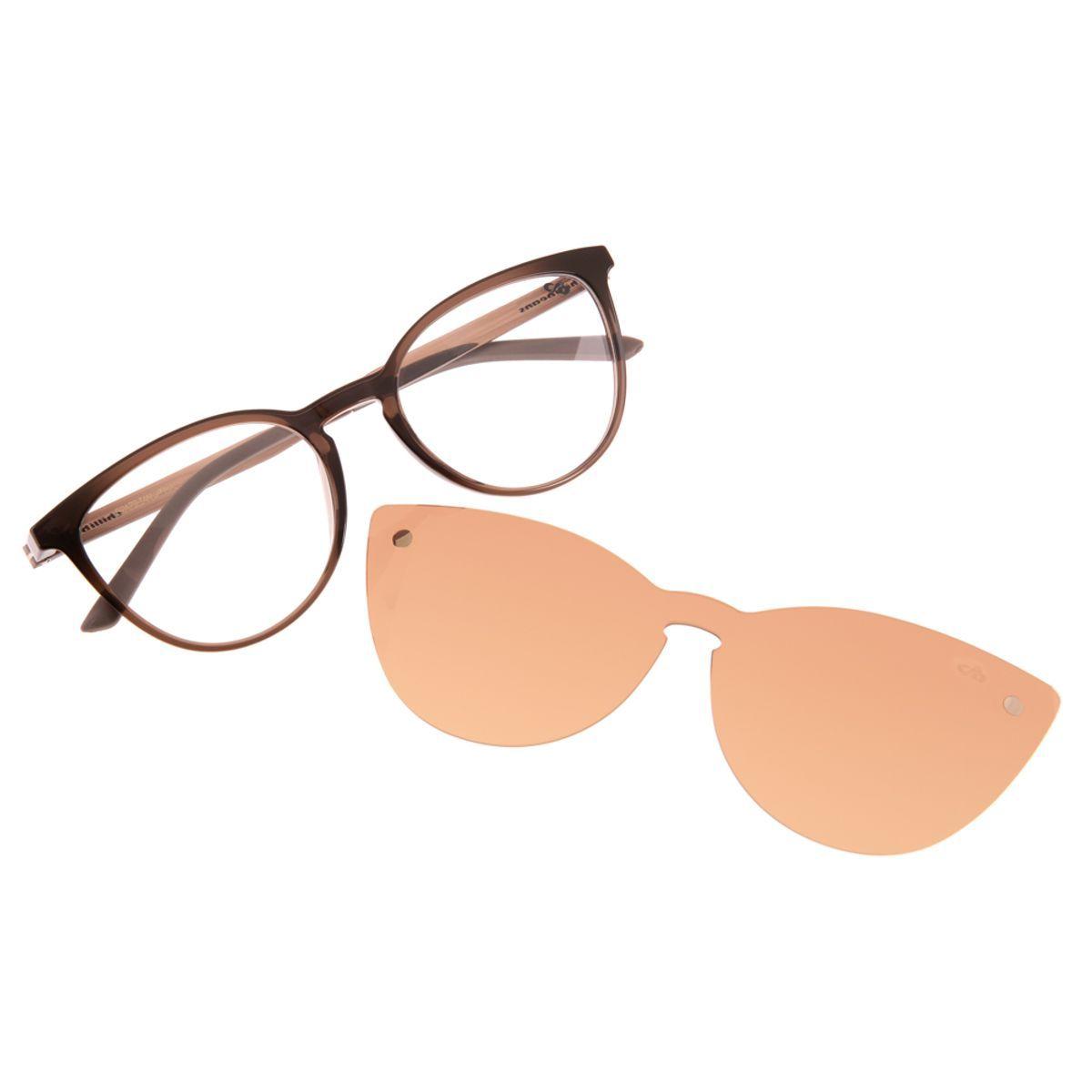 Armacao Para Oculos De Grau Gatinho Chilli Beans Feminino Multi