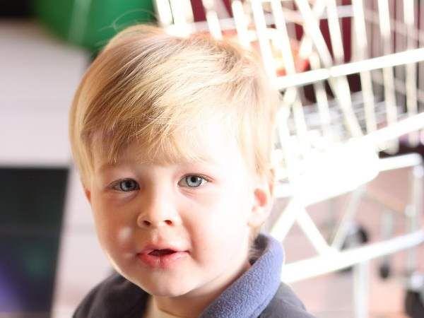Children hairstyle for little boy