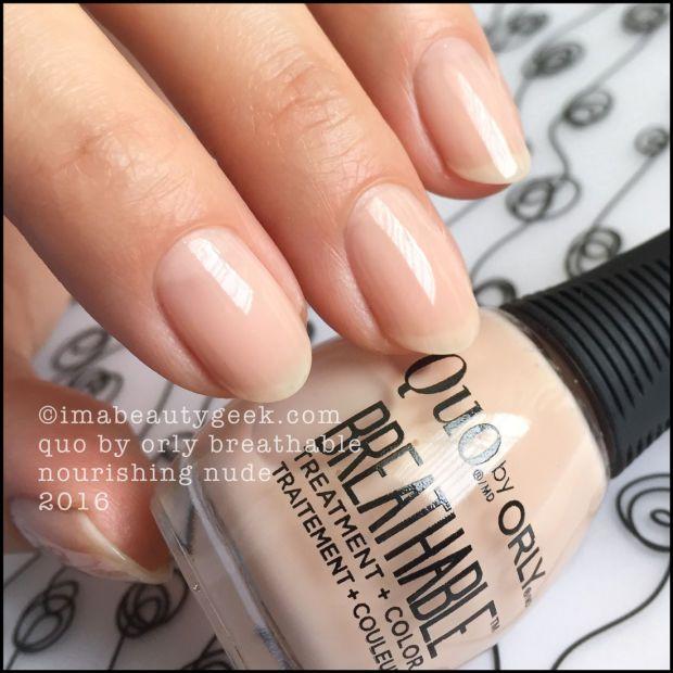 Quo By Orly Breathable Nail Polish Nail Polish Sheer Nail Polish Sheer Nails