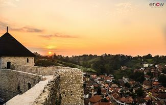 Stari Grad Tesanj    There's a sunrise and a sunset every single day, and they're absolutely free. Don't miss so many of them :)  Photo by Esada Okić Photography :)
