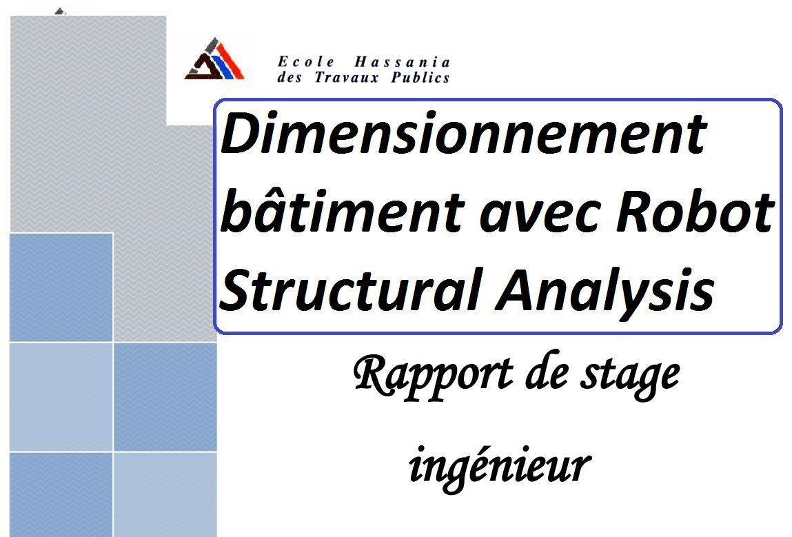 Exemple Dimensionnement Bâtiment Avec Robot Structural